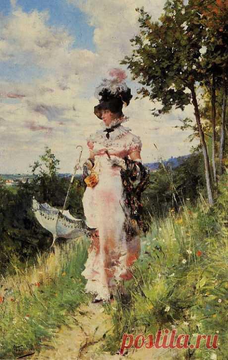 Джованни БОЛЬДИНИ (1842 - 1931) - итальянский художник