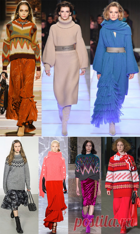 20 модных тенденций 2018-2019 – женская одежда и аксессуары