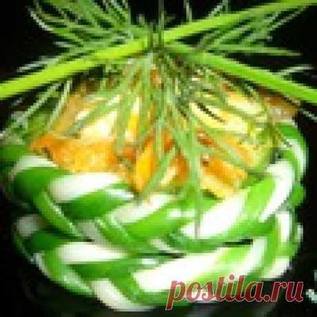 Тарталетки  «Сырные  плетeнки» Кулинарный рецепт