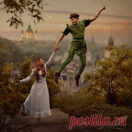 Фотограф оживил знаменитые сказки • НОВОСТИ В ФОТОГРАФИЯХ