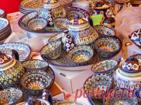 Бухарская керамика на Вятском Лапте в Кильмези