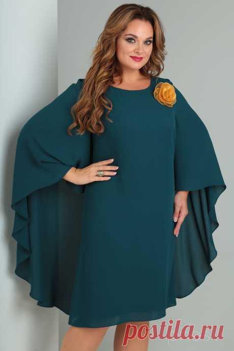 Платье Danaida 1724 зеленые тона - Белорусская Одежда