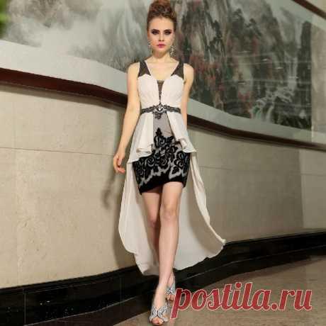 Платье  Арт № Sdk 14 Размер: S,  M,  L,  XL, 2XL Ткань: Шелк Сатин Жоржетт