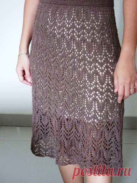 Ажурное платье спицами схемы. Схемы вязаных платьев спицами | Я Хозяйка