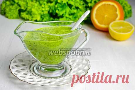 Sauce with cilantro and orange juice the recipe with a photo how to prepare on Webspoon.ru