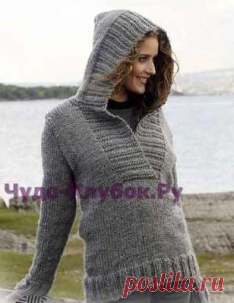Пуловер с капюшоном 113 | ✺❁сайт ЧУДО-клубок ❣ ❂✺Пуловер с капюшоном 113 схемы и описания: ❂ ►►➤6 000 ✿моделей вязания ❣❣❣ 70 000 узоров►►Заходите❣❣ %