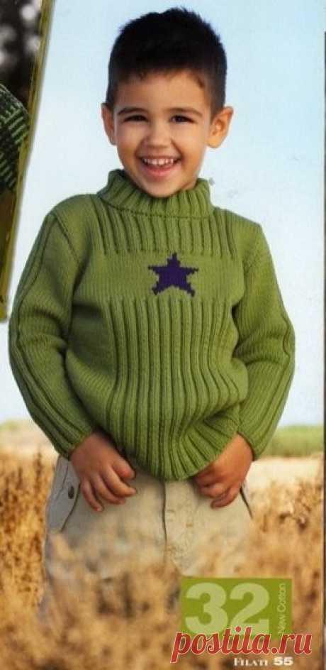 New Cotton пуловер - Вяжи.ру