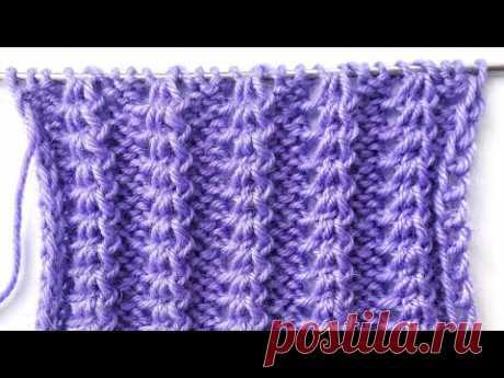 Объемные дорожки спицами для вязания шапок, свитеров, кардиганов