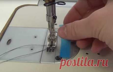Как научиться шить быстро и ровно