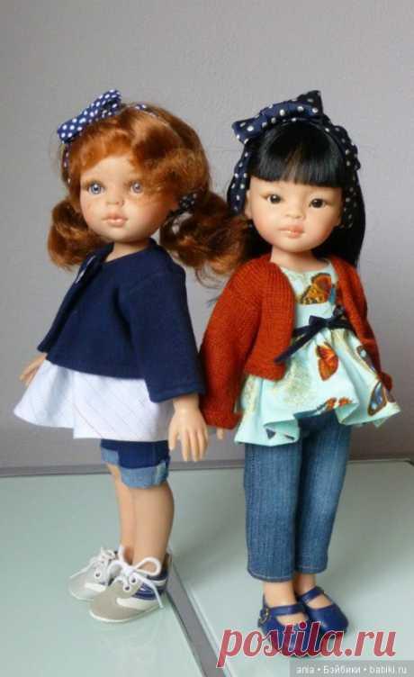 Туника и штанишки для кукол Паола Рейна / Выкройки одежды для кукол-детей, мастер классы / Бэйбики. Куклы фото. Одежда для кукол