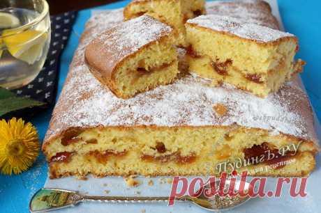 Пирог... два пирога с вареньем на скорую руку