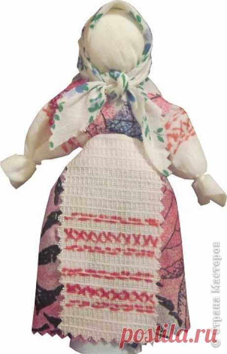 Тряпичная кукла-закрутка