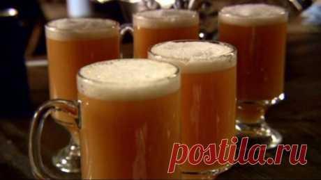 Горячее сливочное пиво