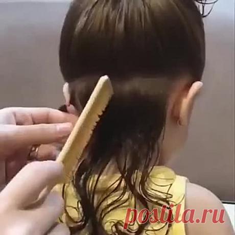 Причёска для принцессы