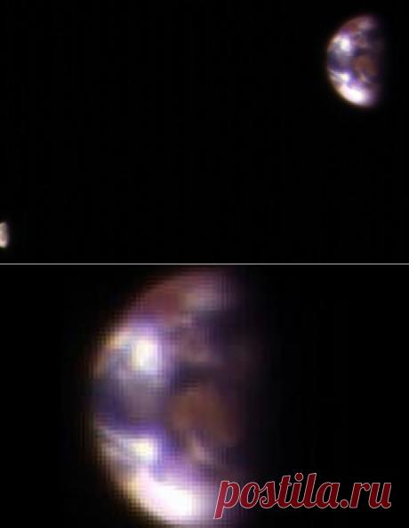 Las nuevas fotografías de la Tierra y la Luna quitada de la superficie de Marte — la mecánica Popular