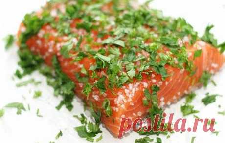 Recipe of a fresh-salted trout in Finnish \/ Simple recipes