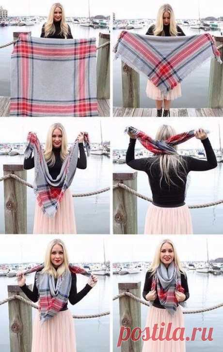 10 идей: Как носить большие .