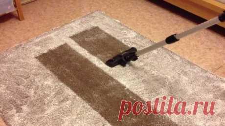 Чистим ковер дешево и сердито: в домашних условиях с помощью реакции уксуса и соды