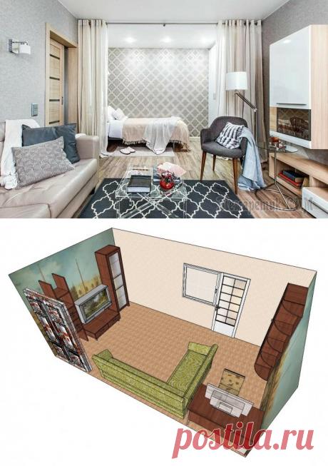 Как обустроить маленькую квартиру без перепланировок и сноса стен