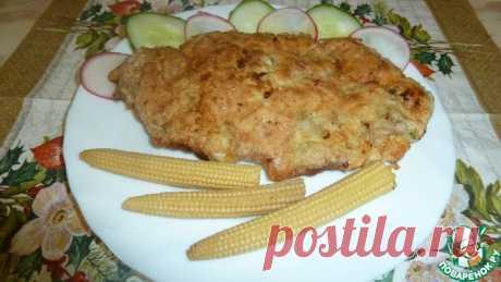 Шницель оригинальный Кулинарный рецепт