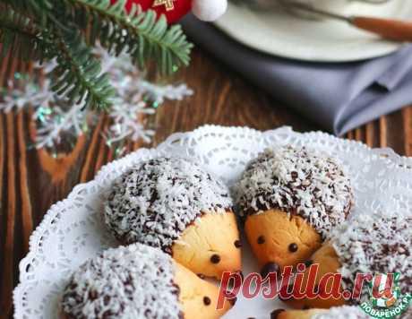 """Печенье """"Ежата"""" – кулинарный рецепт"""