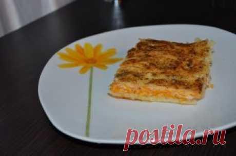 Оригинальность — в тыквенно-мясной начинке;)) Греческий пирог «Шумуш» — Готовим дома
