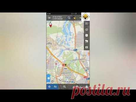 Как настроить Locus Map: как добавлять точки, как закачать карты, как поделиться своими координатами и другое.