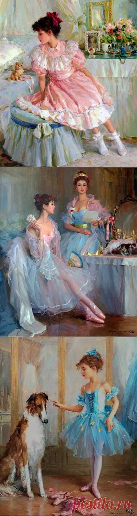 портреты девушки-мечты / Декупаж. Мастер-классы / PassionForum - мастер-классы по рукоделию