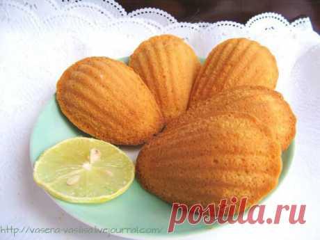 Лимонно-имбирные мадлен от Елены в день 8 марта - Горбушка хлеба — LiveJournal