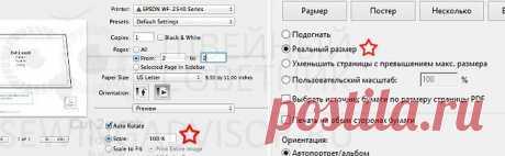Как распечатать выкройку в формате PDF - советы, отзывы, форум / Швейный Советник