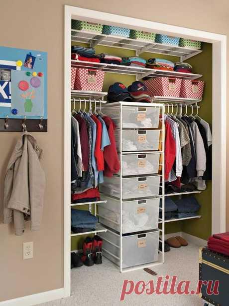 Крутые идеи для идеального порядка в каждой комнате
