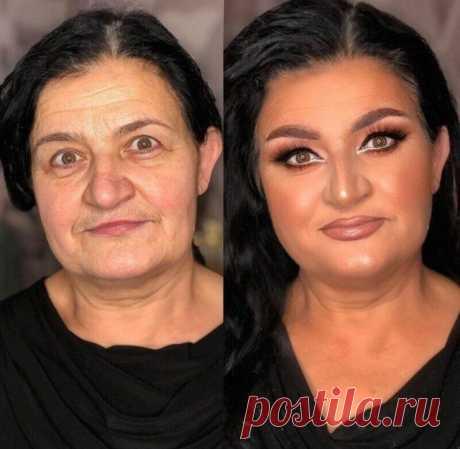 Чудеса макияжа от сербского визажиста - 15 фото