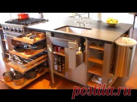 Фантастические Идеи Кухни, Экономящие Пространство - Умная кухня
