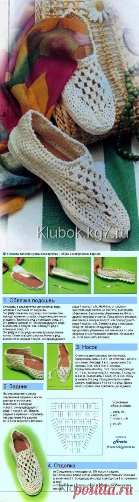 Los zapatos vyazannye | el Pelotón