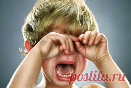 Как быстро прекратить детскую истерику