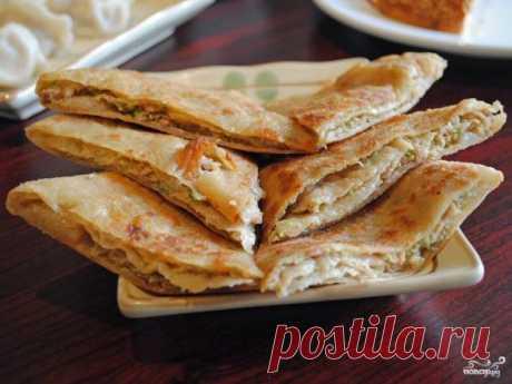 Блины с курицей и сыром - пошаговый рецепт с фото на Повар.ру