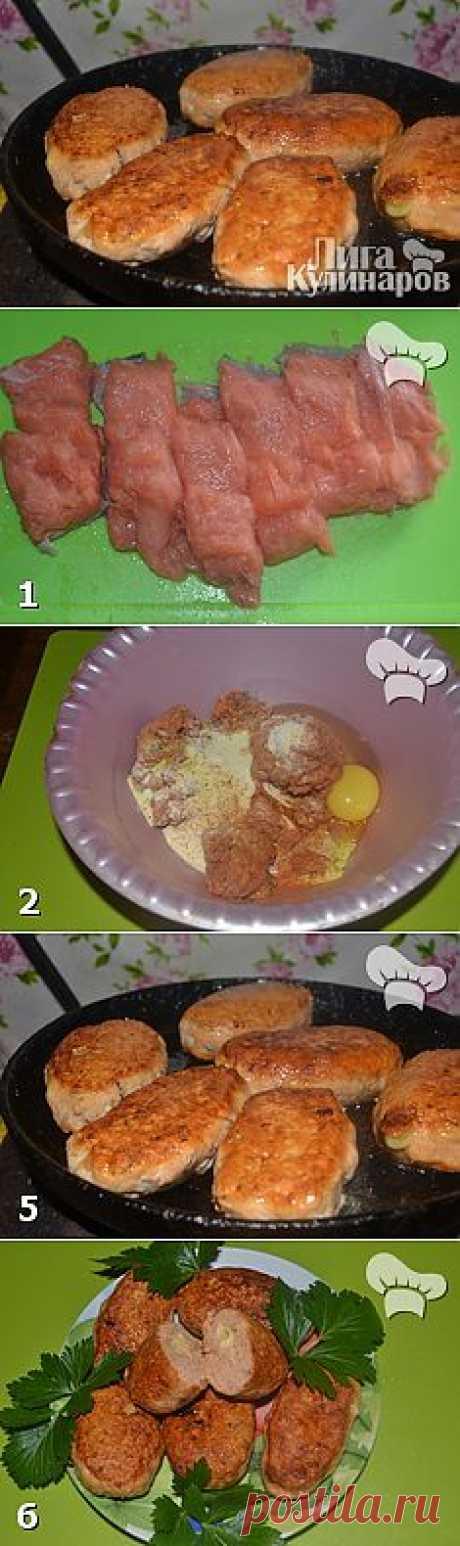 Рыбные котлеты с сыром — рецепт пошаговый от Лиги Кулинаров