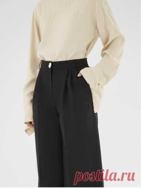 Что купить: широкие брюки для лета в городе 2020