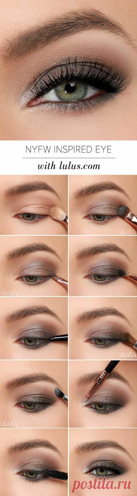 Lulus How-To: 2015 NYFW Inspired Eye Shadow Tutorial - Lulus.com Fashion Blog