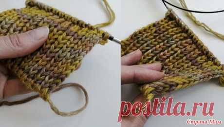 Кромочный край, который не закручивается. Видео Хочу сегодня поделится техникой вязания очень красивой и простой кромки, которая не закручивается. Вязать шарф без нее, это просто пустая трата времени  А вот с ней - красота!