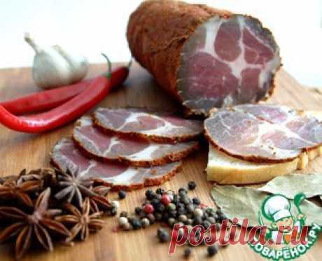 Вяленое мясо в домашних условиях - кулинарный рецепт