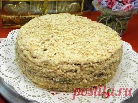 """Торт """"Наполеон"""" на сковороде - рецепт с пошаговыми фото приготовления"""