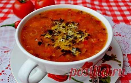 Суп с помидорами — классика | Краше Всех