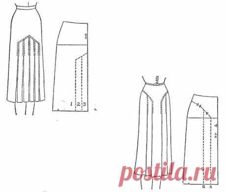 Моделирование юбок со складками: много вариантов — Сделай сам, идеи для творчества - DIY Ideas