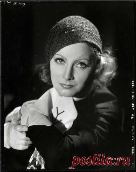 Greta Garbo - Inspiration by Clarence Sinclair Bull, 1930