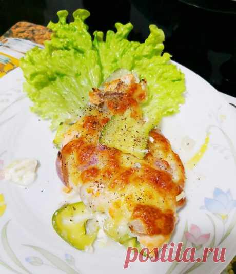 Запеканка из кабачков с семгой по-итальянски рецепт с фото пошагово