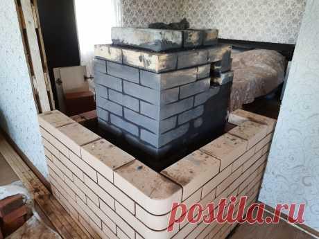 Отопительная печь для дома 50 квадратов. Часть 1 | House. Всё о печах | Яндекс Дзен