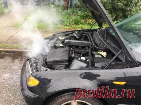 Что будет с двигателем, если его заглушить, когда работает вентилятор охлаждения?