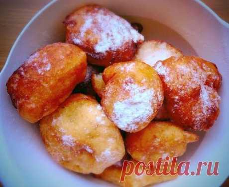Быстрые пончики по-итальянски - рецепт с фото / Простые рецепты