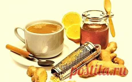 (+1) тема - Имбирный чай для похудения   КРАСОТА И ЗДОРОВЬЕ